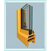 China Flat Open Window Aluminum Profile Strong Tensile Resistance With Milling / Drilling on sale
