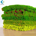 Micro Artificial Vertical Garden , Customized Landscape Decor Fake Moss Mat for sale