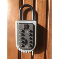 Quality Portable Push Button Door Key Lock Box Safe for Outdoor /  Security Key Box for sale