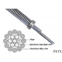 Buy cheap OPGW 144 Strand Outdoor Fiber Optic Cable Composite Overhead Ground Wire product