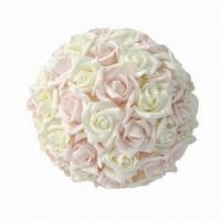 Quality Artificial Rose Flower Ball, Perfect Wedding Decoration for sale