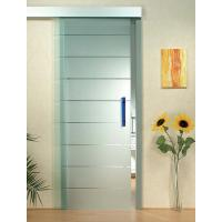 China Interior Door Silkscreen Printing Tempered Clear Glass , Decorative Tempered Glass on sale