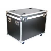Quality Reinforce Ball Corner Aluminum Flight Transport Case With Wheels 8mm Thickness Plywood Panel for sale