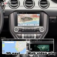 Buy Ford Mustang SYNC 3 Android GPS navigation box WIFI BT Google apps video interface at wholesale prices