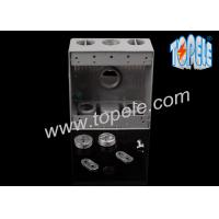 Quality Weatherproof Electrical Boxes Two Gang Outlet Branch Circuit Wiring for sale