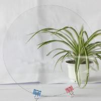 Quality Clear Tempered Glass (Round Board) for sale