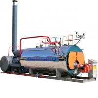 Quality Skid Mounted Diesel Steam Boiler 1.5 Ton Natural Circulation Horizontal Style for sale