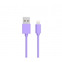 Quality Lightning C89 USB A To Lightning MFI PVC Round Cable 5V2.4A for sale