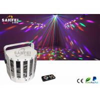 China Distance Control Butterfly Dance Party Lights Red Green Laser Pattern on sale