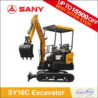 China SANY SY16C 1.6 tons New Product Mini Excavator of Trench Digger for Hot Sale on sale