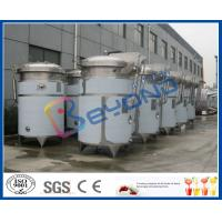 Buy cheap SUS304 or SUS316L stainless steel tea beverage/tea drink/herbal juice extraction tank with dimple pad jacket product