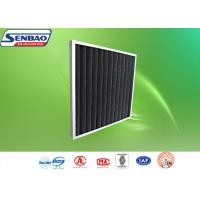 Quality Customized Pleated Panel Air Filters Activated Carbon Synthetic Fiber for sale