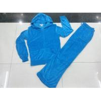 China wholesale 9,500 sets Juicy Couture Women sport velvet Suit、cheap price Yoga tracksuit on sale