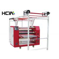 Quality Digital Lanyard Rotary Heat Press Machine Oil Heating With 420mm Roller for sale