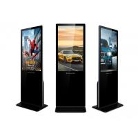 Quality Wifi Ultra Slim Indoor LCD Digital Signage Advertising Kiosk With Tempered Glass for sale