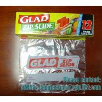 Buy Glad Zipper Food Bags, Microwave Bags, Slider Bags, School Lunch Pouch, Slider grip bags at wholesale prices