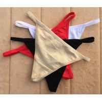 Buy Free sample girl underwear high quality sexy thong for women at wholesale prices