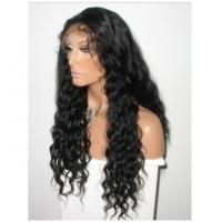 China Tangle Free Pure Full Lace Human Hair Wigs Body Wave Density 150% on sale