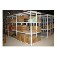 China 3 Tier Heavy Duty Metal Shelving Warehouse Storage Shelves Power Coated on sale