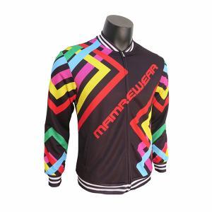 Quality Rib Bottom Mens Running Jacket / Polyester Sport Coat Long Sleeve for sale