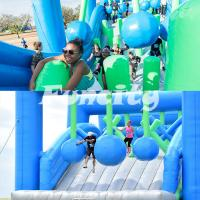 Good Elasticity Inflatable Sport Games Wrecking Balls With