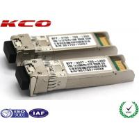 Buy cheap 20KM 10GB Single Mode Simplex LC Connector SFP Fiber Optic Transceiver With DDM product