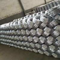 Quality Zinc coating 0.9mm 20 Gauge Hot Dip Galvanized Iron Wire for Mesh Weaving for sale
