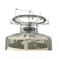 Single Jersey Circular Weft Knitting Machine With High - Tech Operating System