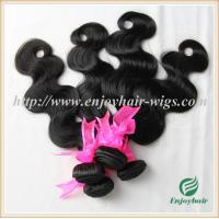 China Brazilian 5A virgin remy hair weave ,natural color(can be dye) body wave 10''-26''length on sale