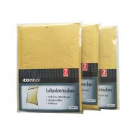 Quality Shrink Bubble Wrap Shipping Envelopes , Light Brown Kraft Padded Mailers Recyclable for sale