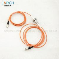 Buy cheap Professional Stainless Steel Fiber Optic rotary joint / FORJ electrical from wholesalers