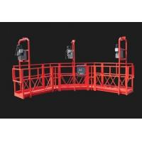 Quality Red Arc Adjustable High Working Steel Rope Suspended Platform Cardle for Construction for sale