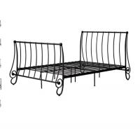 Quality Modern Atmosphere European style metal bed, double size with color customized for sale