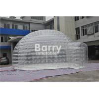 Quality No Harm Inflatable Bubble Tent , Inflatable Transparent Tent For Camping Or Event for sale