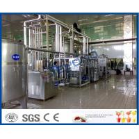 Quality 2000L/h Dairy Processing Plant with homogenizer and pasteurizer 3000-4000bottles/h with iso certificate for sale
