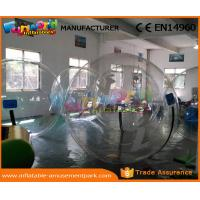 Buy cheap Durable Transparent Water Zorb Walking Ball Inflatable Water Bubble Soccer product