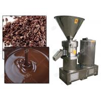 China Manual Cocoa Bean Grinding Machine / Cacao Nib Grinder Colloid Mill Factory Price on sale