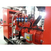 Quality 6 Cylinders Natural Gas Electric Generator Biogas Fueled 80KW for sale