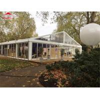 China Flame Retardant Clear Span Glass Marquee Tent For Exhibition / Activity on sale