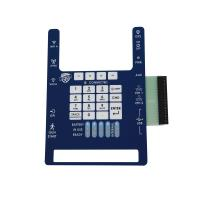 Buy cheap Custom Tactile Single Membrane Panel Switch Made PC Gloss Plastic Key product