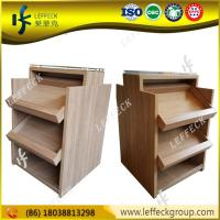 Quality Wooden heavyweight department store and liquor store shelving in exquisite craft for sale