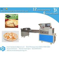 Quality Kobe pizza frozen packaging automatic food flow packaging machine for sale