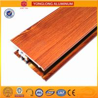 Quality Insulation Wood Finish Aluminium Profiles For Medical Equipment OEM for sale