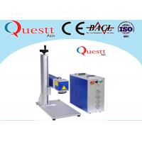 Quality Small Optical Fiber Laser Marking Machine 20 Watt 7000 Mm/S 3 Axis Computer Controller for sale
