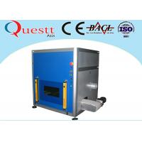 Buy cheap Industrial 4.0 Fiber Laser Marking Machine for Metal with Conveyor Belt , 7 m/min Speed product