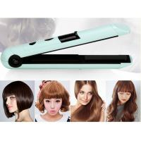 Buy cheap Small 1'' Rechargeable Hair Straighteners Hair Styling Iron 20*3.4*3.8cm product