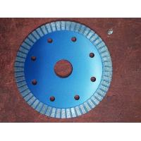 Quality 6 Inch 9 Inch Diamond Turbo Blade For Granite 125mm Hot Pressed Silver Blue for sale