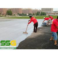 Quality Basement Sealing On Site Construction Services Synthetic Permeable Running Track for sale