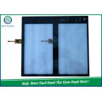 Quality 9'' Touch Panel 2 Pieces Sensor Glass With 1 Piece Cover Glass COF Two In One Type for sale