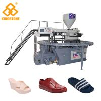 Quality 110-150 Pairs / Hour Shoe Making Production Line plastic Slipper Shoes Making Machine  for sale
